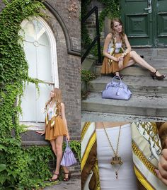 Hermës Grand Apparat Silk Scarf, Forever 21 Chiffon Skirt, Mousse Illusion Birkin Bag, Forever 21 Cinderella Carriage Necklace