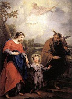 Jacob de Wit, (1695-1754): Retorno de Egipto.