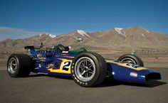 Johnny Lightning Indy car. Late '60's or early '70's. Al Unser drove  this car at one point.