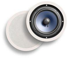 Polk Audio RC80i 2-Way In-Ceiling Speakers (Pair, White) by Polk Audio, http://www.amazon.com/dp/B00006BMQT/ref=cm_sw_r_pi_dp_CxbHsb19541Z1