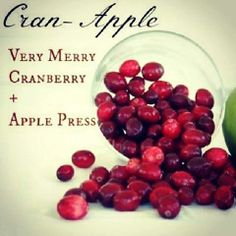 "Scentsy Scent Bar Recipe. ""Cran-Apple"". Like me on Facebook: Scentsy by Molly Wabel or shop online at https://mollywabel.scentsy.us!"