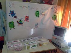 Rincón monstruo de colores Conte, Kids Learning, Ideas Para, Kindergarten, Workshop, Education, School, Album, Google