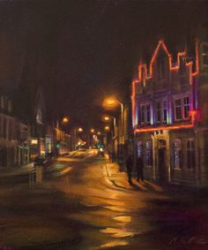 'Last Men Standing' - painting by Mary Louise Butterworth   Inverurie