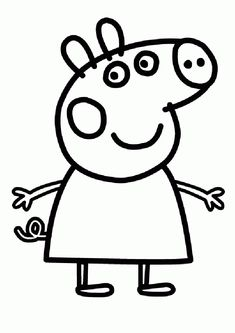 printables  | comment to Peppa Pig Coloring Pages For Kids. Free Online Printable ...