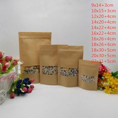 Candy Packaging, Wedding Packaging, Cheap Gift Bags, Kraft Bag, Candy Bags, Box Cake, Food Gifts, Kraft Paper, Paper Shopping Bag