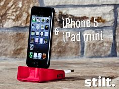 Stilt -- iPhone 5's Charging Dock That Loves to Travel by Lance Atkins, via Kickstarter.
