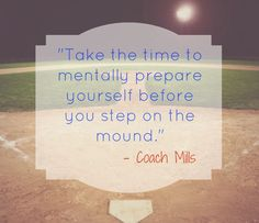 Baseball and Pitching is mental Baseball Tips, Baseball League, Baseball Quotes, Dodgers Baseball, Baseball Mom, Baseball Stuff, Softball Rules, Girls Softball, Catcher Quotes