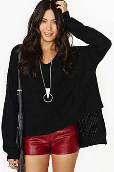 Cambridge Knit - Negro   Tienda Jerseys de Nasty Gal