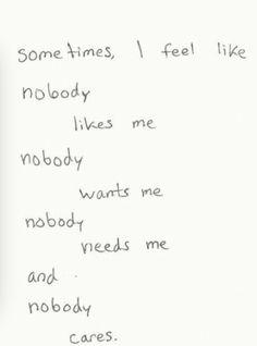 Sometimes I Do Feel Like This...