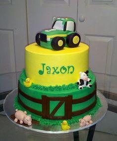 Image detail for -John Deere Tractor Cake - by CakesbyKimNC @ CakesDecor.com - cake ...