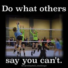 Volleyball is life.