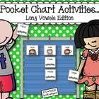 Pocket charts are a staple in every primary classroom! Put yours to good use with this fun long vowels pocket chart activity. Simply print, laminat...