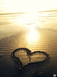 Sand Sun Sea Heart Love West Witterings <3