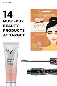 The best beauty products in the beauty section at Target