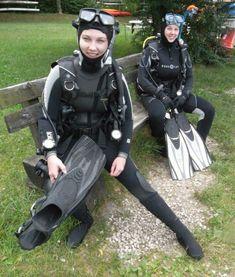 Scuba Wetsuit, Diving Wetsuits, Diving Suit, Scuba Diving Gear, David Beckham Suit, Technical Diving, Scuba Girl, Womens Wetsuit, Biker Girl