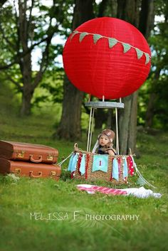 Hot air balloon theme