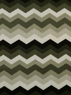 SNS PANAMA WAVE LICORICE #black-gray-silver #chevrons #print-fabrics
