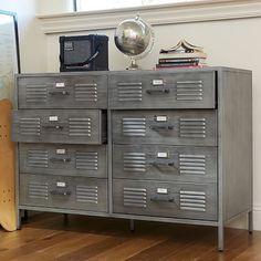 Locker Dresser for the boys' Star Wars room.