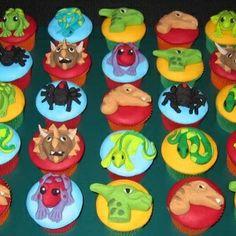 Dino cupcakes...wow!
