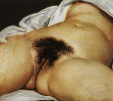 "Gustave Courbet, ""L'origine du monde"", 1866"