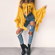 Street Style Tops Type :Women Fashion Blouses Style: Casual Vintage TopsSleeve Style: Flare SleeveMaterial: Cotton,PolyesterClothing Length: RegularFabric Type:
