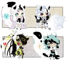 [CLOSED]ADOPT SET PRICE 109 - Enigma by Piffi-adoptables on deviantART