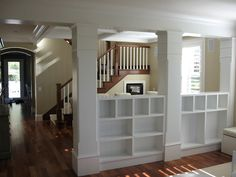 columns with built ins