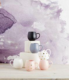 Hug Me Mug Set of 4 - Pink+Gold - Hug Me Mugs - By Robert Gordon - Our Ranges