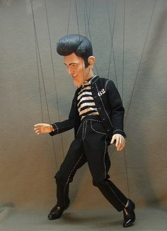 The King marionette limited edition by AMCreatures on Etsy