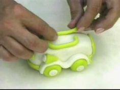 Cold Porcelain Tutorials: Make a Cute Cold Porcelain Car