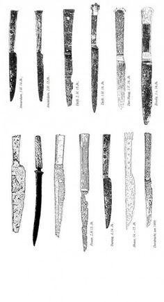 Kezeli kést a középkor