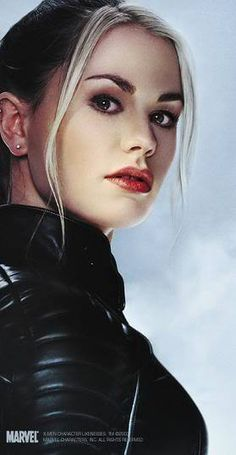 X-Men Movie Rogue.... /Sookie.  Love that Anna Paquin plays two of my favorite fictional characters ever- and both with a Southern accent.  And LOVE that she is coming back as Rogue in the new Xmen movie!