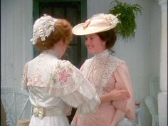 Anne of Green Gables. I've always loved the details of these two costumes...