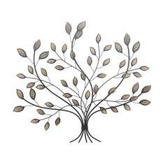 Adorned Leaf Tree Wall Art