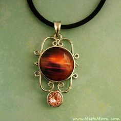 MettaMoon Sunset Dream Pendant Necklace