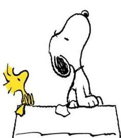Classroom clipart--Snoopy