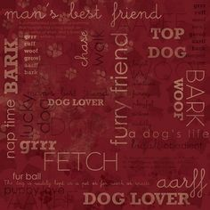 gorgeous range of Dog themed scrapbooking paper, stickers and ...