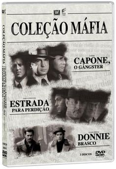 DVD Coleção Máfia - 3 Discos