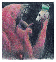 Anton, Celestial, Pets, Illustration, Animals, Painting, Animales, Animaux, Painting Art