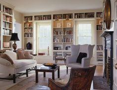 wall-to-wall built-ins, window seats, lights - Neumann Lewis Buchanan