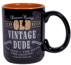 Treasures By Brenda: 31 DAYS OF COFFEE MUGS: Mugs For Old Guys