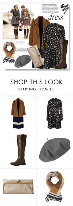 """Fall wear"" by natasha-r-catz ❤ liked on Polyvore featuring Rochas, Frye, Zara, Betmar, HOBO and BCBGMAXAZRIA"