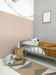 Kids room, kinderkamer, chambre enfant, barnrum, barnerom Source by AtelierDesignL . Chaise Design Pas Cher, Kids Room Design, Room Kids, Children Playroom, Kids Room Wall Art, Scandinavian Kids Rooms, Scandinavian Modern, Kids Wallpaper, Playroom Wallpaper