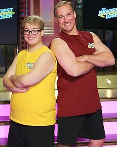 The Biggest Loser - I voted for Jackson(on the left in yellow).  He's from Utah, let's show him our support.  ~ Coach Lora Erickson, www.BlondeRunner.com    http://blonderunner.com/2013/03/the-biggest-loser-vote-for-jackson-as-the-third-finalist/