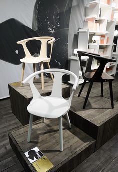 In Between chairs by Sami Kallio for AndTradition.