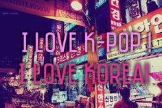 Resultado de imagen para i love kpop wallpaper