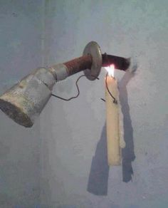Heating Water from Candle