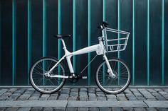 Bicicleta urbana de rueda 24 con cesta delantera. Modelo #Biomega BOS Boston    Con candado incorporado en el cuadro (el cable)