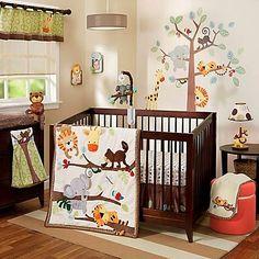 Lambs & Ivy® Treetop Buddies Crib Bedding Collection