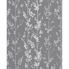 Superfresco Easy - Berries Gray/Silver Wallpaper - 32-412 - Home Depot Canada
